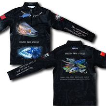 2019 New style warrior Sea fishing Fishing long sleeves outdoors Ice filament Sun protection clothing clothes