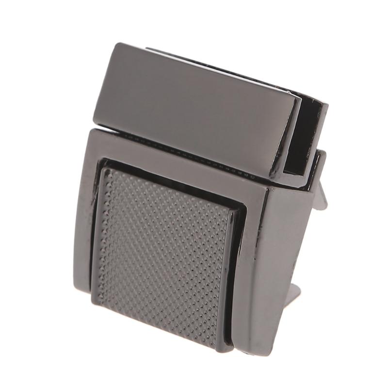 Fashion Hardware Purse Twist Lock Metal For Bag Handbag Turn Locks DIY Clasp M5TE
