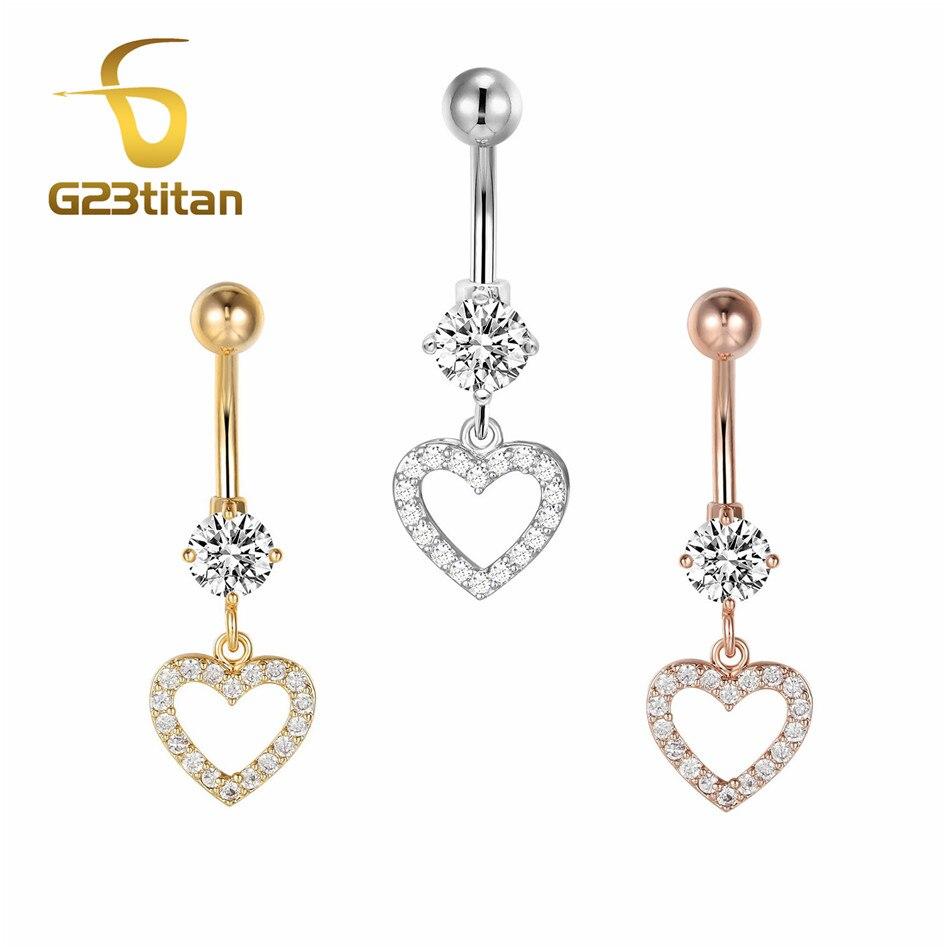 Ladies Gold Crystal Rhinestone Belly Button Ring Bar Body Piercing Beach Jewelry