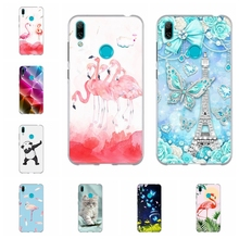 For Huawei Y5 2019 Y6 2018 Y7 Case TPU Mate 20 lite Cover Paris Patterned II Honor 5 Play 7A Coque