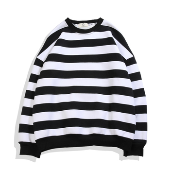 New Sweatshirts Men Classic Striped Hoodies Male Sweatshirt Hip Hop Hoodie Sweatshirts Men Clothes Casual Man Hoodies Streetwear image