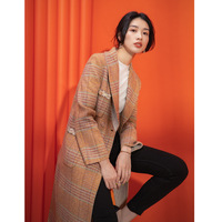 Manteau Laine Veste Femme Hiver Wool Long Maxi Coat Jaket Women Womens Coats Zaful Skarpetki Kawaii Casaco Rosa Manteaux YL280