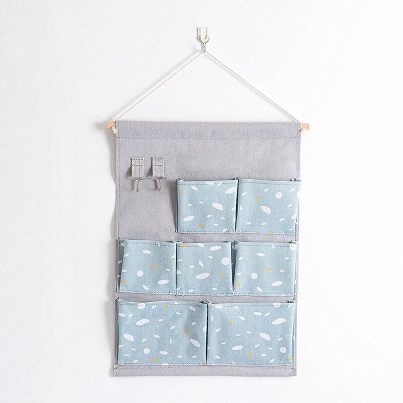 Carttoon настенная подвесная сумка для хранения в скандинавском стиле, органайзер для детской кроватки, декор для детской комнаты, детская игрушка, сумка для хранения подгузников, Домашний Органайзер - Цвет: 13