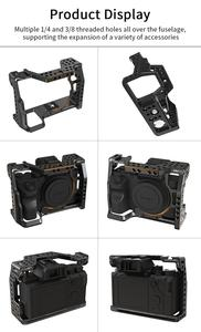 Image 5 - UURig C A73 Camera Cage for Sony A7III Standard Arca Style Quick Release Plate with Top Handle Grip for Sony a7iii A7R3 A7M3
