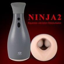 Air Pump Masturbator for Man Blowjob Machine Automatic Vacuum Vibrating Male Masturbator Penis Pump Oral Sex Toys For Men