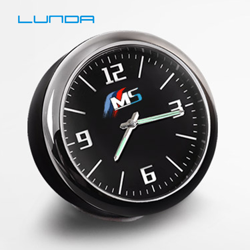 Car clock watch electronic watch time decoration central control modified For BMW IIM for Audi Sline For Mercedes accessories