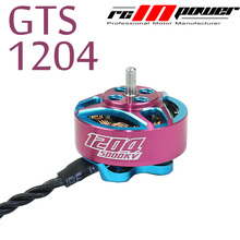 1pc RCINPOWER Brushless Motor GTS 1204 V2 5000KV 3-4S Motor for RC Drone FPV Model Multirotor Parts Accessories red hawk 8010hd 140kv high power high quality disc brushless motor for diy fpv drone agriculture multirotor drones