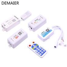 P107E SP601E Musik Controller In Mic Dual Signal SP105E SP110E Bluetooth SP108E Wifi APP WS2812BWS2811 SK6812 Pixel Band dc5-24v(China)