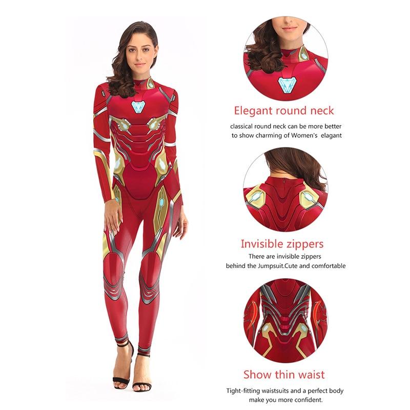 Image 4 - Костюм Человека паука капитан Марвел Асуна, женские костюмы супергероя, карнавальные костюмы Человека паука, Маскарадные костюмы, комбинезоныКостюмы из фильмов и ТВ    АлиЭкспресс
