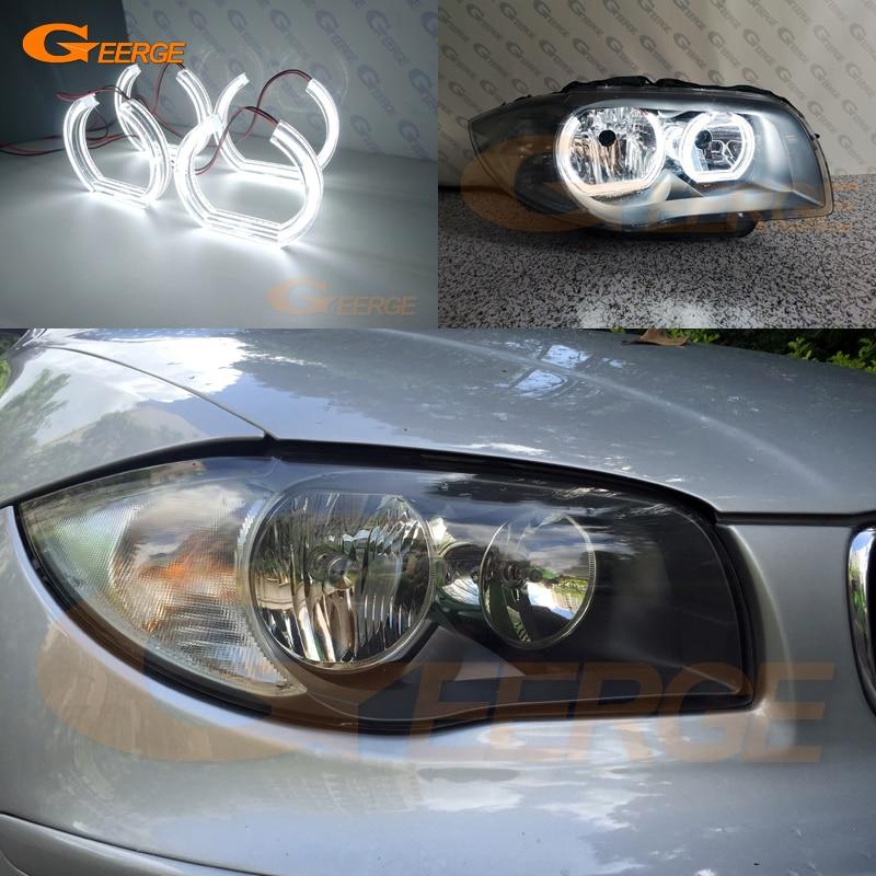 For BMW 1 Series E82 White 4-LED Xenon Bright ICE Side Light Bulbs Pair