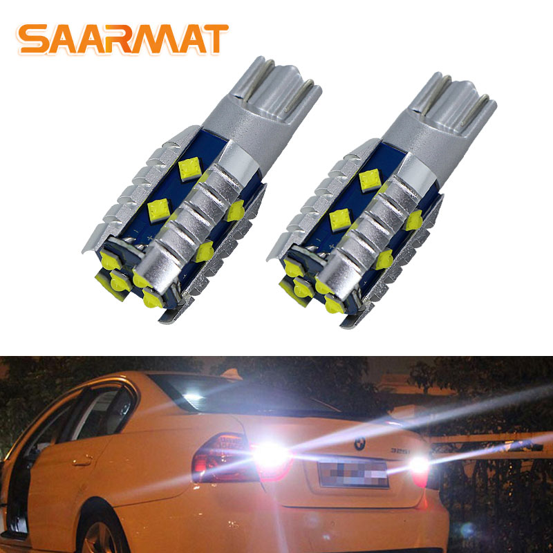 W16W  T15 7.5W HIGH POWER RED with projector LED TAIL STOP Car Bulbs B