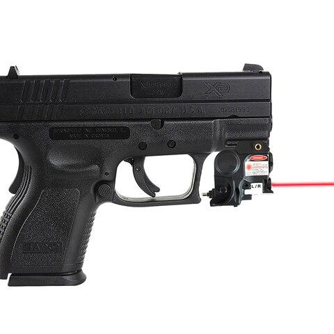 militar para glock 17 19 railed pistola tatico verde laser vista