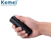 Size-Electric-Shaver Kemei Razor Washable Mini New for Men Small USB Car-Charging-Dry