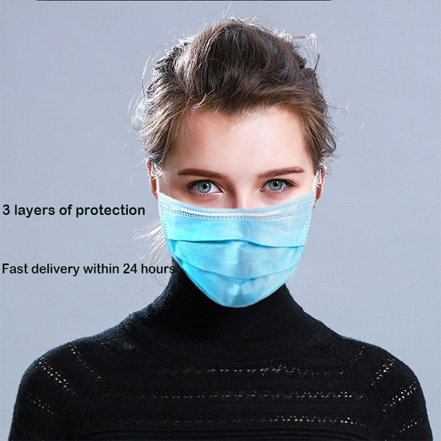 disposable face masks masque anti pollution musk facial masks flu disposable face mask Antibacterial filtration mouth mask face