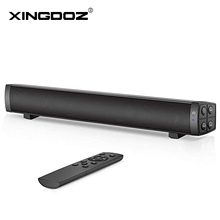 SoundBar for PC Soundbar 2.0 Channel Wired & Wireless Rechargeable Bluetooth Speakers 4.2 3D Stereo AUX/TF Card Connect