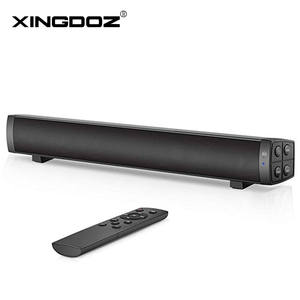 Connect Bluetooth Speakers Soundbar Stereo Rechargeable Wireless AUX 4 for PC Aux/tf-Card