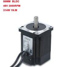 Lk86bl8048 86 серия 48В bldc мотор 300 Вт с высоким крутящим