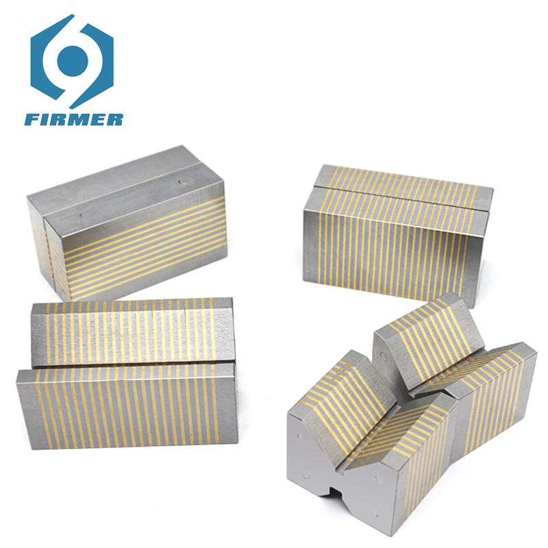 Magnetic Chuck Blocks 2Pcs Non-magnetic Chuck F35A F35B F36V F37V Parallels Grinding Guide For Transmitting Magnetism