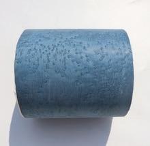 L:2.5Meters  Width:15CM  Thickness:0.25mm  Natural Wood Veneer Hotel Decorated  Blue Wood Skin