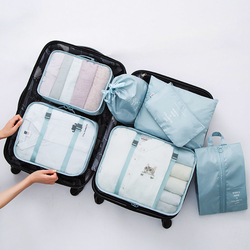 Mihawk  Travel Bags Clothing Underwear Shoes Packing Organizer Cube Portable Toiletry Make Up Pouch Accessories Supplies Items