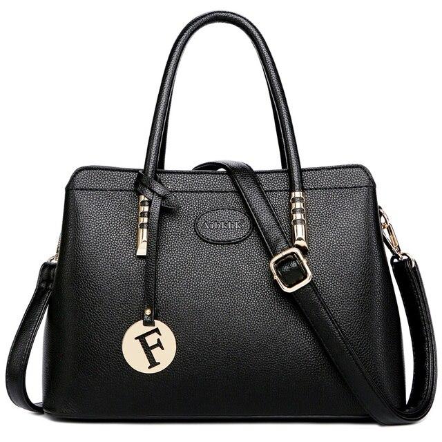 حقائب يد فاخرة من الجلد الأصلي للنساء على أحدث طراز لعام 2019 ، حقائب بتصميم أنيق للسيدات ، حقيبة كتف للنساء