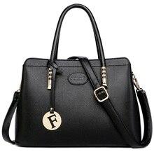 Sac à main en cuir véritable pour femmes, sacs à main de luxe, sacoche de styliste à épaule, bourse féminine, nouvelle collection 2019