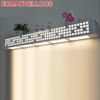 Avec Miroir 산업 장식 Applique Murale Tete De Lit 현대 LED Luminaire 침실 빛 Aplique Luz Pared 벽 램프