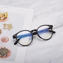 Новые анти-Синие лучи компьютерные очки мужские голубые световые покрытия игровые очки для защиты компьютера ретро круглые очки женские