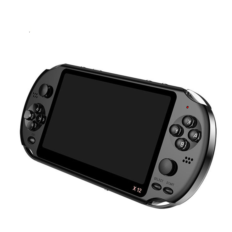 Yoteen 5.1 Inch Handheld Game Console Portable Dual Joystick 8GB Preloaded 1000 Games E-book TV Out Classic Video Game Machine
