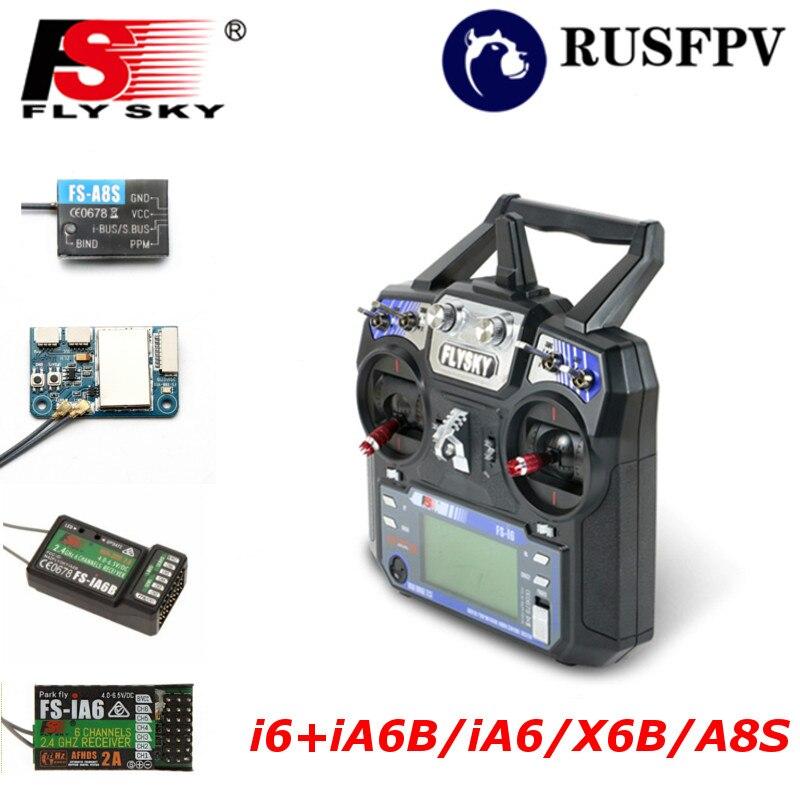 Flysky FS i6 FS i6 2 4G 6CH Transmitter With FS iA6 FS iA6B FS A8S