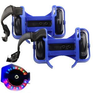 Flashing Roller Skating Shoes Small Whirlwind Pulley Flash Wheel heel Roller Skates Sports Rollerskate Shoes for Kids and adult