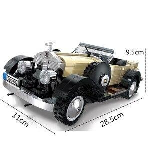 Image 2 - تكنيك الخالق خبير سلسلة سيارات قابلة للتحويل اللبنات نموذج الطوب الكلاسيكية للهدايا ألعاب أطفال