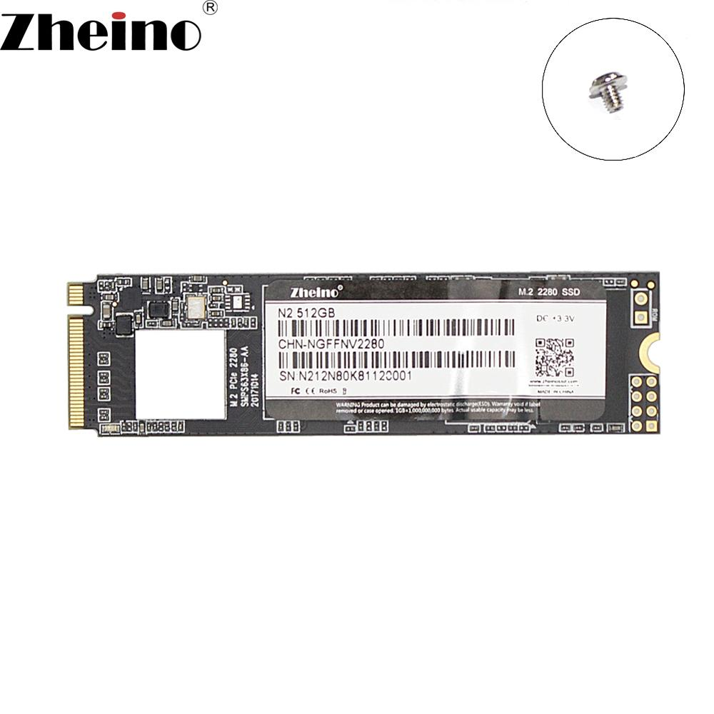 Zheino M 2 PICE 512GB SSD NVME NGFF 2280 Internal Solid State Hard Drive Disk