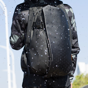 Image 5 - Tangcool Men Fashion Backpack 17.3 Inch Laptop Backpack Waterproof USB recharge Outdoor Backpack Daily School Rucksack