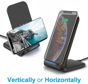 Image 3 - DCAE 15W Qi Drahtlose Ladestation für iPhone 11 Pro X XS 8 XR Samsung S9 S10 S8 USB C Schnelle Ladestation Telefon Schnell Ladung