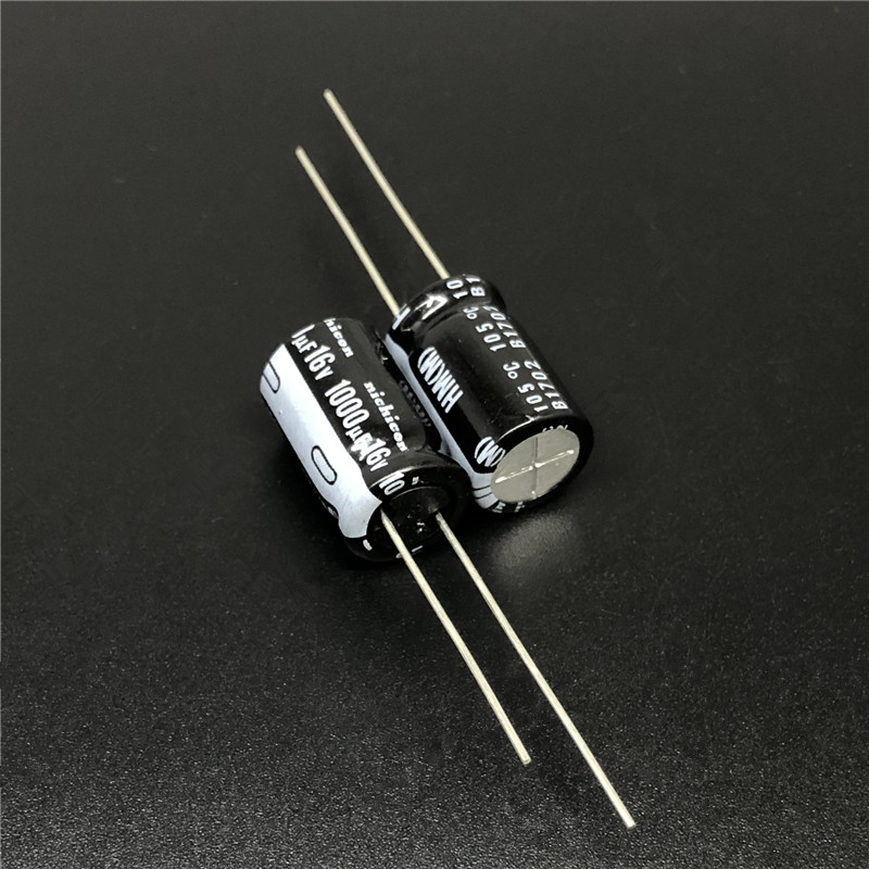5pcs/<font><b>50pcs</b></font> <font><b>1000uF</b></font> <font><b>16V</b></font> NICHICON HM Series Low Impedance 10x16mm 16V1000uF Motherboard Capacitor image