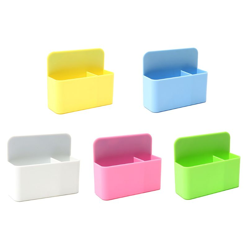 Magnetic Whiteboard Markers Pencil Pen Holder Organizer Storage Container Office