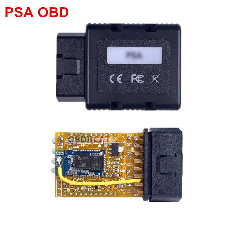 A+ Quality PSA-COM PSACOM Bluetooth Diagnostic And Programming Tool Various System Replacement Of Lexia-3 PP2000 Lexia
