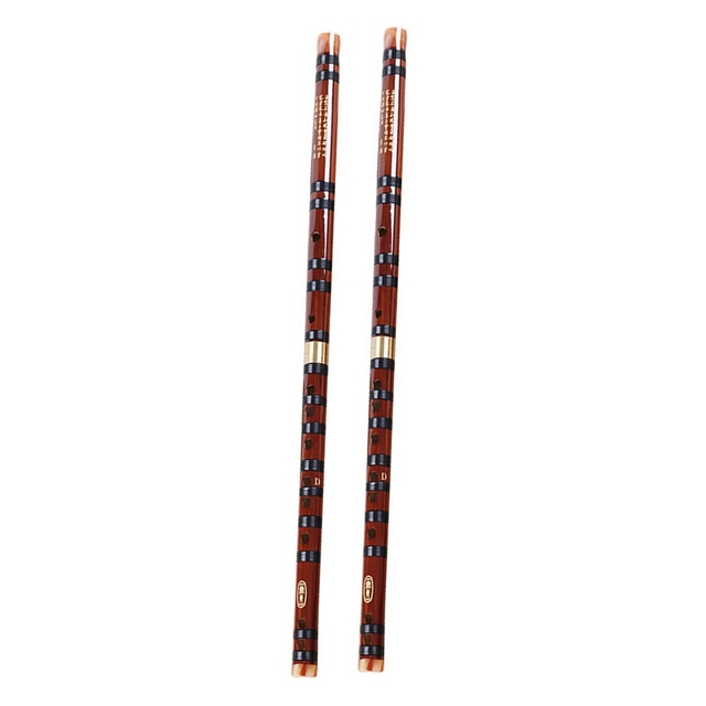Dropship-2x flûte de bambou Instruments de musique C clé/G clé chinoise Dizi transversale