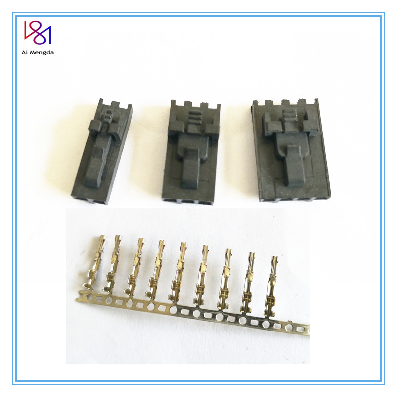 2.54mm 2pin/3pin/4pin Connector & Positive Latch Housing Kit- 10 Pack For Mini-rambo/Einsy Rambo Boards And Prusa I3 Mk2s/mk3