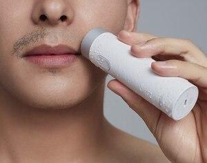 Image 5 - Xiaomi Smate חשמלי מכונת גילוח Flex גילוח נטענת יבש רטוב גילוח מכונת עבור גברים IPX7 רחיץ שלוש עלה להב נוח נקי