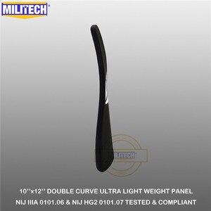 "Image 5 - MILITECH Ballistic Plate 10"" x 12"" Pair NIJ IIIA 3A 0101.06&NIJ 0101.07 HG2 Ultra Light Weight UHMWPE Bulletproof Backpack Panel"