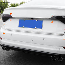 Автомобильная задняя дверь верхняя и нижняя крышка молдинговая