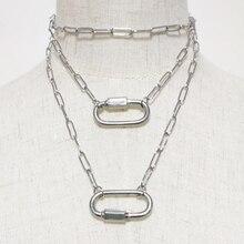 2020 Modern fashion long chain clothing accessory for women