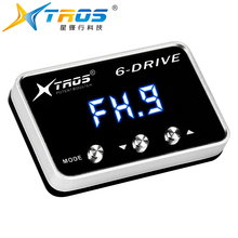 For genesis coupe 2009+ TS-988 TROS TS-6 DRIVE Potent Booster Electronic Throttle Controller 8 driv racing booster car upgrade strong booster auto throttle controller pedal commander for toyota sienna