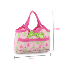 1Handbag Fit For 43cm Baby Doll Reborn Baby Dolls Accessories