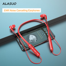 Wireless bluetooth earphone neck hanging bluetooth headset Neck hanging sports running stereo long standby music microphone