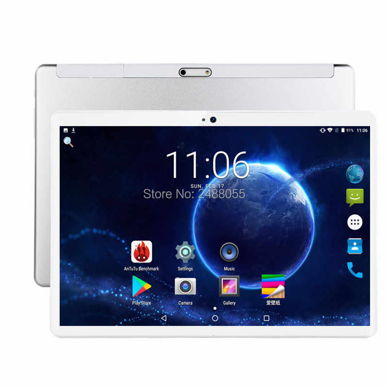 Android 9.0 polegada Octa Núcleo do comprimido 3 10G 4G LTE Telefonema Tablet 6GB 64GB Dual SIM 8.0MP Bluetooth Wi-fi GPS Tablets 10 Pad