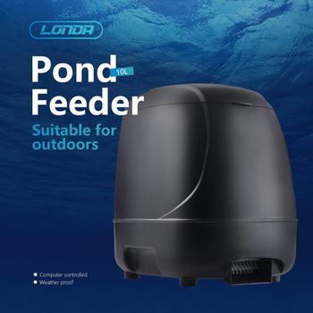 10 л AC/DC Автоматический фидер для рыб таймер для домашних животных автоматический диспенсер для еды для аквариума компьютерный контролируем