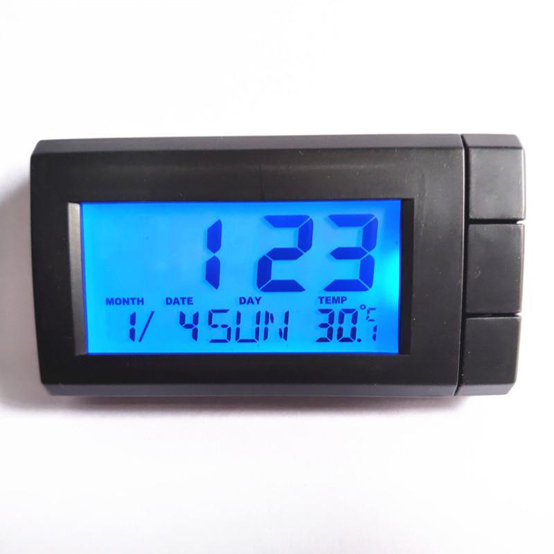 1 шт., автомобильные цифровые часы-термометр